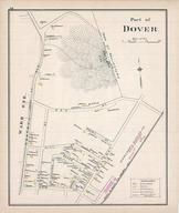 Dover - Ward 1A, New Hampshire State Atlas 1892 Uncolored